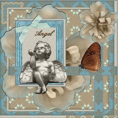 Dutchie Nelleke's gallery - Jan.2016 – Angel - and here is my page – Jan.2016 – Angel , made by the loving Blog Train freebie in Mymemories , Velvet Beauty Mini -from : Marniejo's House of Scraps. Thanks Marilyn shadowed a bit font – Script