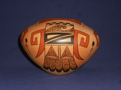 *WOW** STUNNING TRADITIONAL HOPI INDIAN POTTERY JAR BY NEW ARTIST DEBBIE CLASHIN