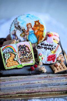 Wizzard of Oz cake: オズの魔法使いのケーキ