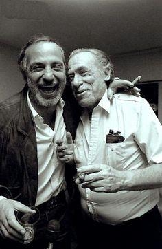 Ben Gazzara y Charles Bukowski.
