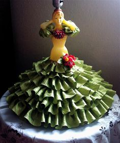 The Lady in the Tutti Frutti Lamp: a Crazy Crafty Carmen Miranda Lamp by Mr. Tiny!!!  http://thewackytacky.blogspot.com/2015/05/crazy-crafty-lady-in-tutti-frutti-lamp.html?m=1