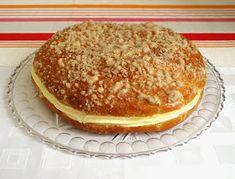 CHEZ LUCIE: Pražský koláč Healthy Baking, Sweet Recipes, Pancakes, Sweets, Homemade, Cooking, Breakfast, Kitchen, Fine Dining