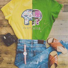 7d47b00e696361 Ivory Ella - Good Clothes For A Good Cause. T ShirtsCool OutfitsDream  ClosetsElephantCool ClothesTeesShirt ...
