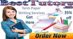 Term Paper Writing Services – The Best Tutors, is a reliable and celebrated academic portal that is known for offering unique proficient assignment writing services help to the students.