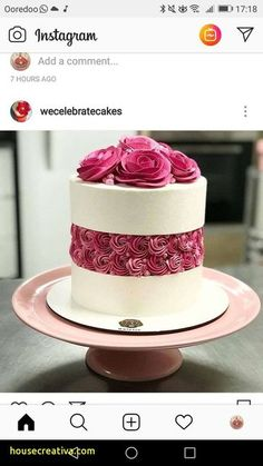 New Baking Cupcakes Decoration Simple Ideas Pretty Cakes, Beautiful Cakes, Amazing Cakes, Buttercream Wedding Cake, Wedding Cakes With Cupcakes, Buttercream Roses, Party Cupcakes, Buttercream Cake Designs, Buttercream Cake Decorating