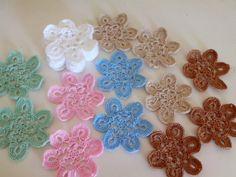 Tecendo Artes em Crochet: Concluindo os Motivos para aplique.