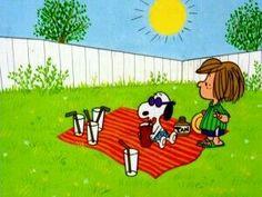 Picnic Snoopy