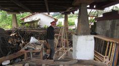 working process, en la #panera de PACA_. #lavoro  #nocciolo #soddisfazioni #comunita #madera #manualidad #tiempo