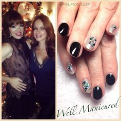 Many thx to the sweet Candy of @Art of the Spa for having #WellManicured as part of her #SpaBrunch Holiday Party to be aired on The Today Show this weekend! Her glammed out nails look ravishing! NAIL LAQUER: #Nars / GEL COLOR: #LittleMissSparkle by #Gelish.  #nailart #nailglam #thetodayshow #tv #spa #spalife #mani #la #nailstylist #naildesigns #customnaildesigns #nailbling #holidaybling #winternails #winter #manhattanbeach #hermosabeach #southbay #intheheartofthesouthbay #Padgram