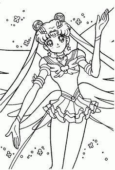 Sailor Moon Coloring Page Photos