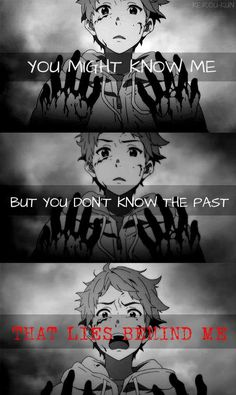 You don\'t know.  And you\'ll never know  Anime: Kyoukai no Kanata