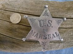 Something about tracking fugitives across the country. The psychological chess match of trying to get one step ahead of the bad guy. Then the adrenaline rush as you close in on them. Us Marshals, Old Barn Wood, Old West, Badges, I Am Awesome, Old Things, Rustic, Christmas Ornaments, Stars