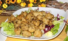 Zeppole con Alici - http://www.portarosa.it/zeppole-con-alici.html #cilento #ricette #recipes