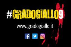 Quali sono i principali canali social del festival letterario Grado Giallo? Cercaci su Facebook, Twitter e Instagram, per interagire con noi e scoprire tutti gli appuntamenti di questa nona edizione. E se vuoi essere anche tu protagonista, usa l'hashtag #GradoGiallo9 sui tuoi profili!