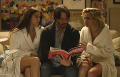 Review: The Keanu Reeves-Starring Erotic Thriller 'Knock Knock' Is a Steaming…