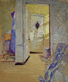 "yama-bato: ""A Dressing Room by Ethel Sands© the artist's estate photo credit: The Ashmolean Museum of Art and Archaeology """