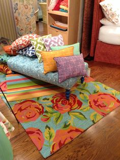 Company C outdoor! #pillows, #rugs and #fabrics