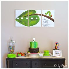 kelly east: A Very Hungry Caterpillar Birthday: The Details