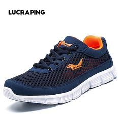 46.78$  Buy now - http://alinnl.worldwells.pw/go.php?t=32718557289 - 2017 Summer of the most Popular Lightweight Sporting Breathable Femme Shoes Leisure Shoes Sport&walking Femme Men's Shoes Large 46.78$