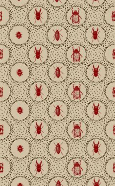 Beetle Pattern by Holly Trill//