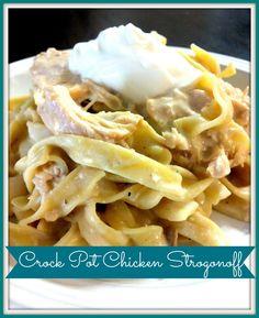 Crock Pot Chicken Stroganoff