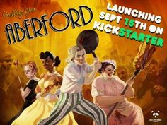 Interview With the Creator of Aberford: Representation & 1950s Women vs. Zombies