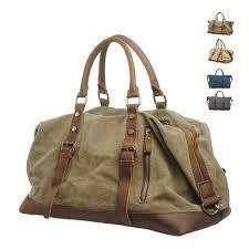 bolsas de viaje en tela y cuero - Buscar con Google