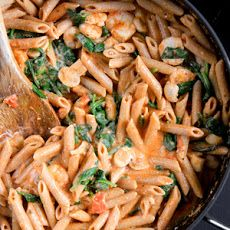 Penne Rosa with Shrimp Recipe