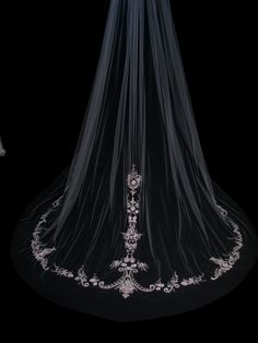 Couture bridal or wedding veil - Graceful £480.00