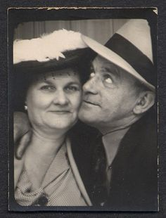 "~Photo Booth..(wiife) .""....just smile dear....oh there it goes..(husband)  ""....I can't believe you talked me into this....""~"