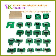 BDM Probe Adapters 22PCS Full Set Work with KTAG and Kess V2 ECU Programmer Free Shipping