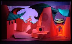 David Hockney - Stage Design for ' Turnadot'