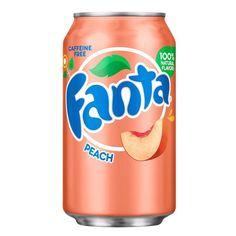 Купить Fanta Peach банка 355 мл — цена доставка магазин Сладкая страсть Москва