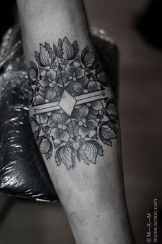 Mandala tattoo. #tattoo #ink