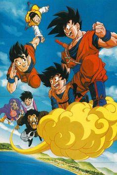 Dragon Ball Gt, Dragon Ball Z Shirt, Otaku Anime, Anime Echii, Anime Amino, Goku And Chichi, Chibi, Son Goku, Fan Art