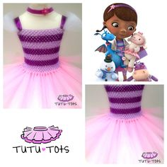 Doc mcstuffins tutu dress from tutu tots