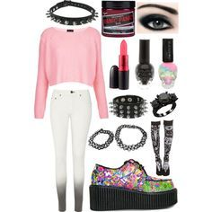 Pastel Grunge Outfits: soft grunge on Pinterest   Violets  Grunge and American Horror Stories,