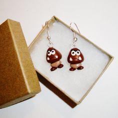 Goomba earrings