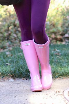 Because everyone needs a pair of cure rubber boots :)