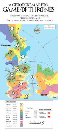 Mapping fantasy: The story behind the Game of Thrones geologic maps