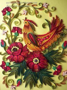 Волшебная сказка про квиллинг: По мотивам декоративной росписи