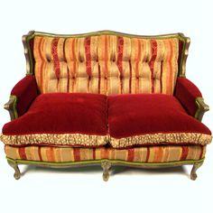 sexy ugly furniture  .....   Fab.com | Virginia Loveseat