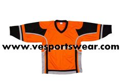 2014 fashionable sublimation inline hockey jersey