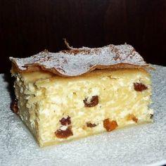 Vargabéles Recept képpel - Mindmegette.hu - Receptek Hungarian Recipes, Hungarian Food, Cottage Cheese, Cheesecake, Deserts, Muffin, Goodies, Food And Drink, Pie
