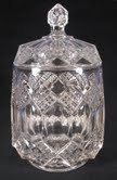 """EAPG Antique Old Imperial Glass """"Three in One"""" Retro Biscuit Jar Very Rare. $28.00, via Etsy."""