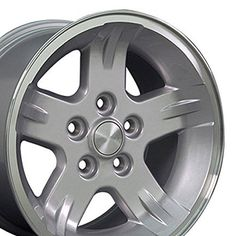 """USED OEM STEEL WHEEL 16/"""" WRANGLER new takeoff 07-18 SILVER with CENTER CAP"""