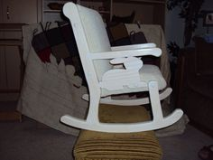 Child's Rocking Chair by TheOldRebelWorkshop on Etsy, $135.00