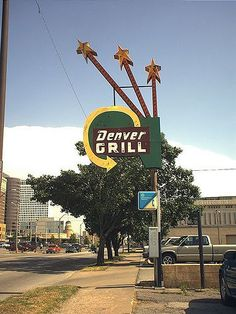 Denver Grill neon sign by Lost Tulsa, via Flickr