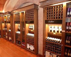 upscale wine store | WD02 White Luxury Wine Shop Design For Brandy