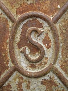 Rusty letter S by ~stubdesign on deviantART